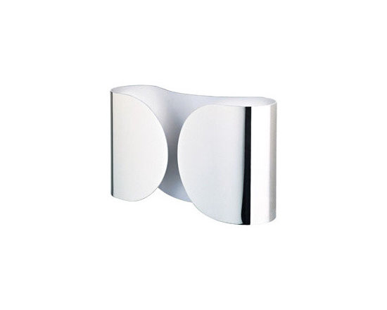 Foglio Wall Lamp \ Sconce By Flos Lighting - Foglio by Flos is a new wall fixture that uses a simple smooth rounded form which wraps the bulb area into each flap.