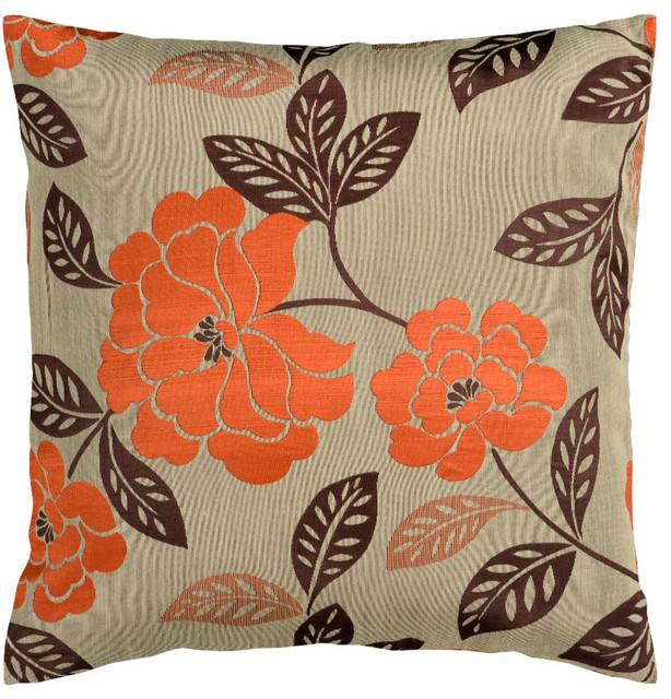 Decorative Pillow 18x18 with Polyester Filler contemporary-decorative-pillows