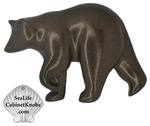 Bear  Drawer Knobs rustic