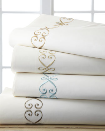Each King Embroidered Pillowcase traditional-pillowcases-and-shams