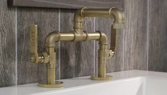 Bathroom Sink Faucets Industrial Bathroom Chicago By Hydrology