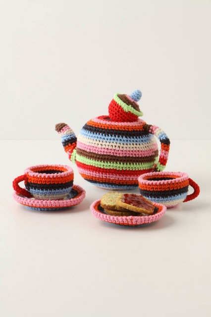 Make-Believe Tea Set eclectic kids toys