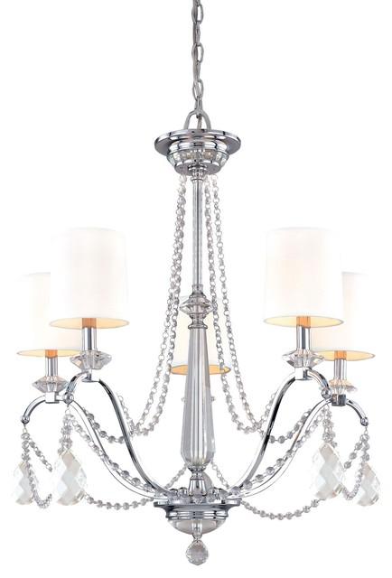 Troy Lighting Fountainbleau 5 Light Chandelier chandeliers