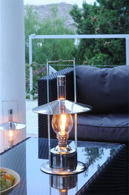 Fredeco Toronto Oil Lamp Modern Outdoor Table Lamps Other Metro By Fredeco Lighting