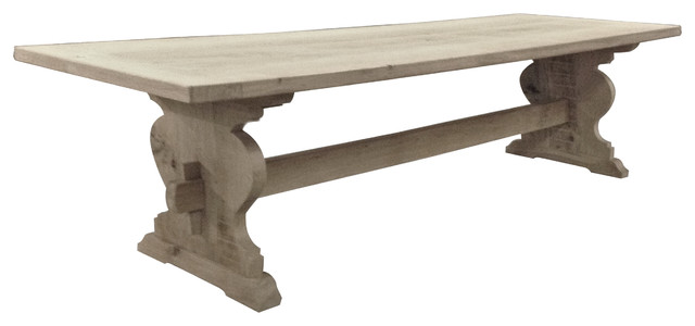 JEROME TRESTLE TABLE Farmhouse Dining Tables other metro