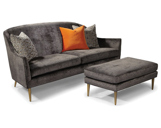 Jessica Sofa and Ottoman from Thayer Coggin -