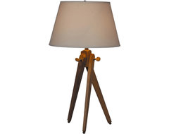 100 Essentials Woody Table Lamp contemporary-table-lamps