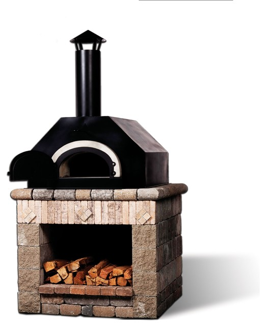 The Olde World II Wood-fired Oven modern grills