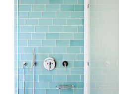 Muir Beach Shower modern tile