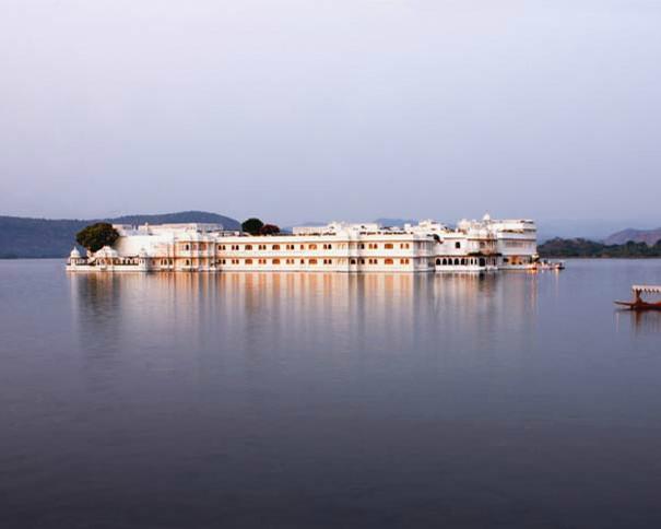 The Taj Lake Palace, Udaipur ~ Exterior traditional
