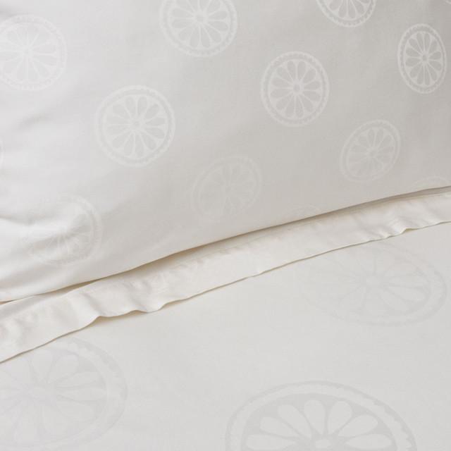 Cream Balboa Sham, Standard contemporary-pillowcases-and-shams