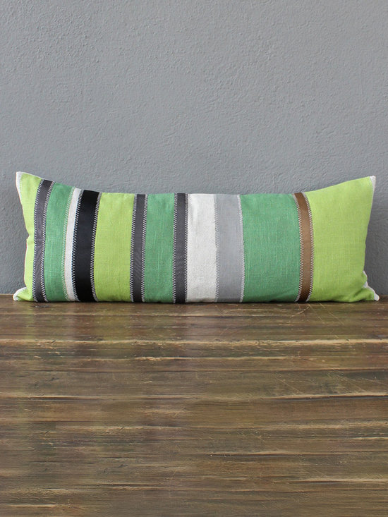 kelly green lumbar pillow - view this item on our website for more information + purchasing availability: http://redinfred.com/shop/category/gift/sale/kelly-green-lumbar-pillow/