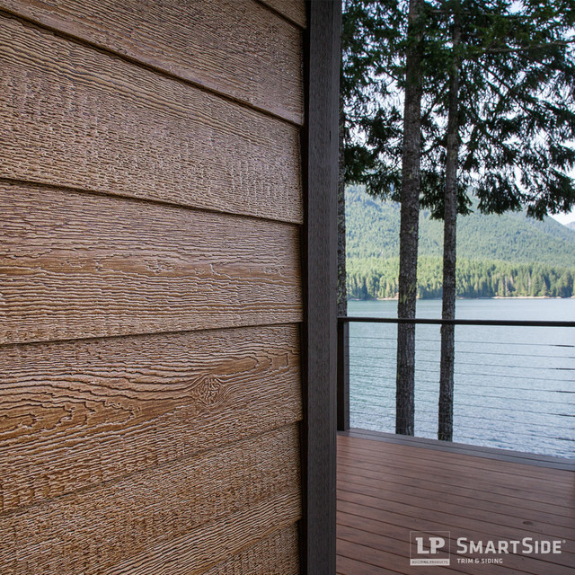 Lp smartside lap siding 1 rustic seattle by lp for Wood grain siding panels