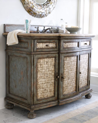 Ambella - Salina Sink Chest traditional bathroom vanities and sink consoles