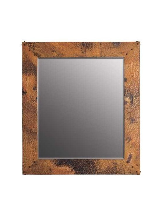 Native Trails - Native Trails Large Tuscany Mirror - *Beveled edge glass