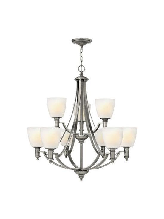 Hinkley Lighting 4028AN 9 Light Chandelier Truman Collection -