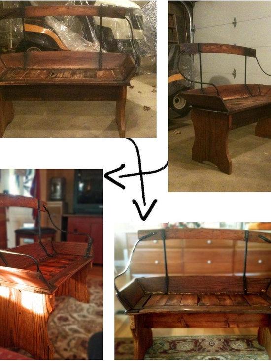 Antique Bench -