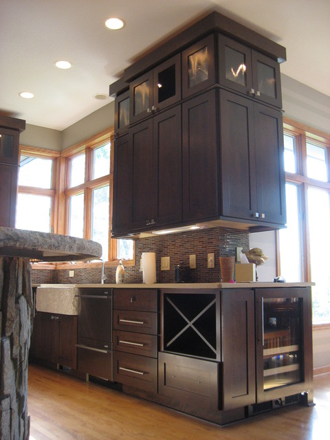 Hammer Residence contemporary-kitchen