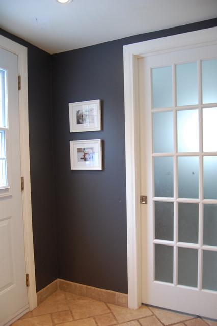 Dark Gray In Small Hallway