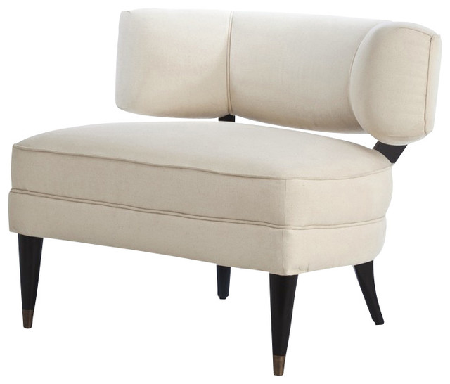 Laurent Chair, Off-White modern-living-room-chairs