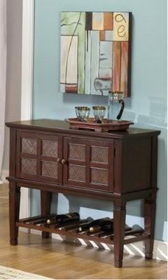 Progressive Furniture Kingston Isle Sideboard - Havana Brown modern-buffets-and-sideboards