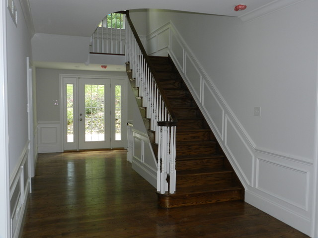 Bryn Mawr, New construction traditional-staircase