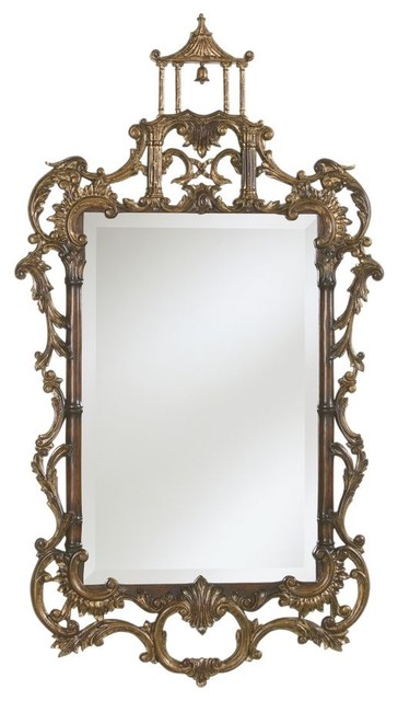 chinese chippendale mirror traditional-mirrors