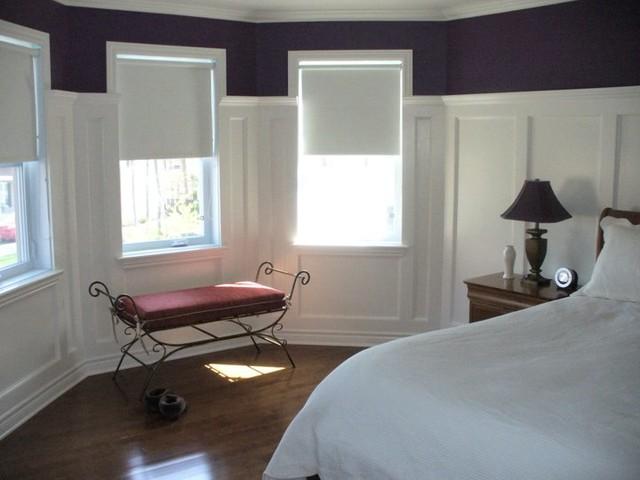 r novation projet 2 moulures chambre coucher. Black Bedroom Furniture Sets. Home Design Ideas