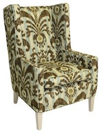 Square High Back Chair contemporary-living-room-chairs