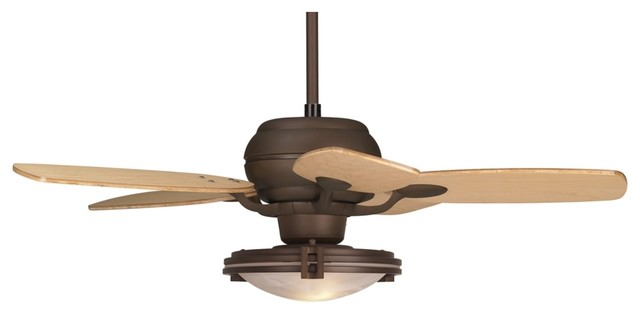 "Arts and Crafts - Mission 43"" Casa Optima Oil Rubbed Bronze Finish Ceiling contemporary-ceiling-fans"