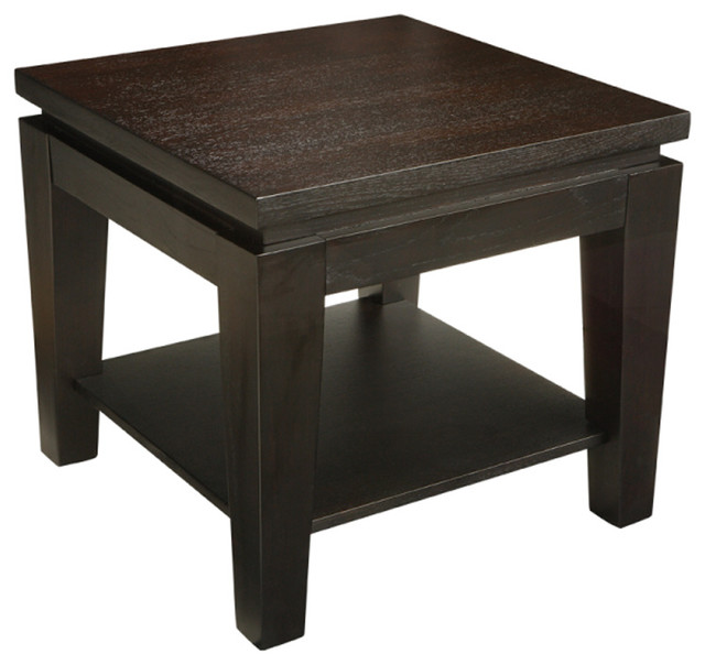 asia square end table contemporary side tables and end