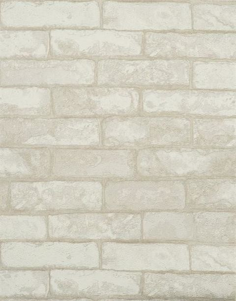 textured white brick wallpaper white double roll. Black Bedroom Furniture Sets. Home Design Ideas
