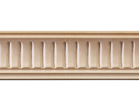 "Inviting Home - Lowell Carved Crown Molding (small) - cherry wood - cherry hardwood crown molding 1-5/8""H x 1-5/8""P x 2-1/4""F sold in 8 foot length (3 piece minimum required) Hand Carved Wood Molding specification: Outstanding quality molding profile milled from high grade kiln dried American hardwood available in bass hard maple red oak and cherry. High relief ornamental design is hand carved into the molding. Wood molding is sold unfinished and can be easily stained painted or glazed. The installation of the wood molding should be treated the same manner as you would treat any wood molding: all molding should be kept in a clean and dry environment away from excessive moisture. acclimate wooden moldings for 5-7 days. when installing wood moldings it is recommended to nail molding securely to studs; pre-drill when necessary and glue all mitered corners for maximum support."