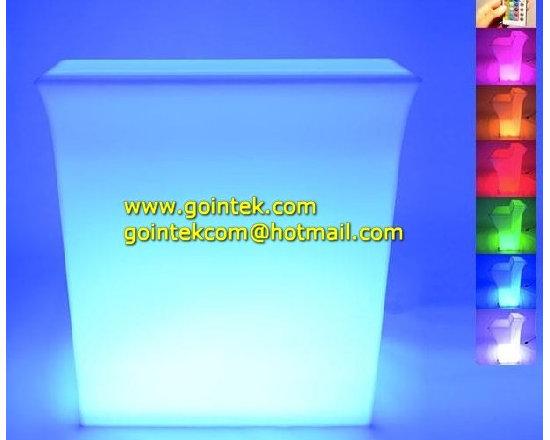 Lighting Led Bar Counter Furniture Sets -