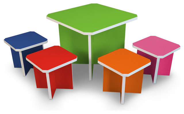 Way Basics - Charlotte Table Set modern-kids-tables-and-chairs