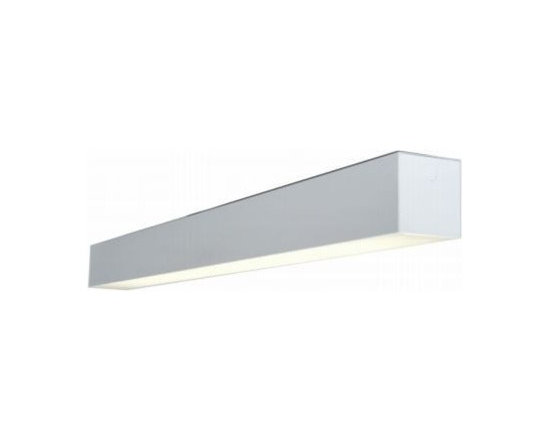 Texas Fluorescents - Texas 8-ft 48W LED Recessed Mount Linear Fixture - Specification grade, modular linear lighting luminaire in a geometric 6 inch shape.For use in indoor applications where individual or continuous lighting is desired for general or perimeter lighting applications.. The 66 Series is available in surface, pendant (suspended), or recessed (see matching wall series). Recessed 66 series are available for T-bar installation without a flange or for flanged construction for sheetrock installation. Pendant and surface mount configurations allow direct light only, indirect light only or direct light with uplight through slots. Pendant mounted fixtures can be used with cable kits or rigid stem kits specified separately. Surface and pendant fixtures can be painted in a variety of finishes for the right look for your application.