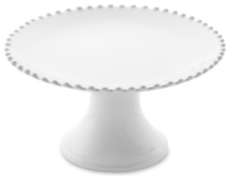Ceramic White Cake Stand traditional serveware