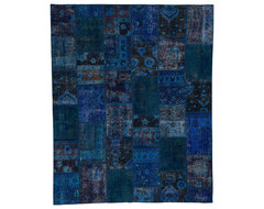Patchwork Blue Without Boarders rugs