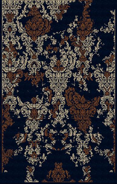 """Surya Banshee BAN-3341 3'3"""" x 5'3"""" Black Rug contemporary-rugs"""