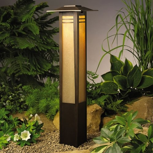Kichler Zen Garden™ Column Path Light contemporary outdoor lighting