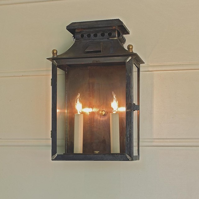 Medium Federal Outdoor Light - 2 Light  outdoor lighting