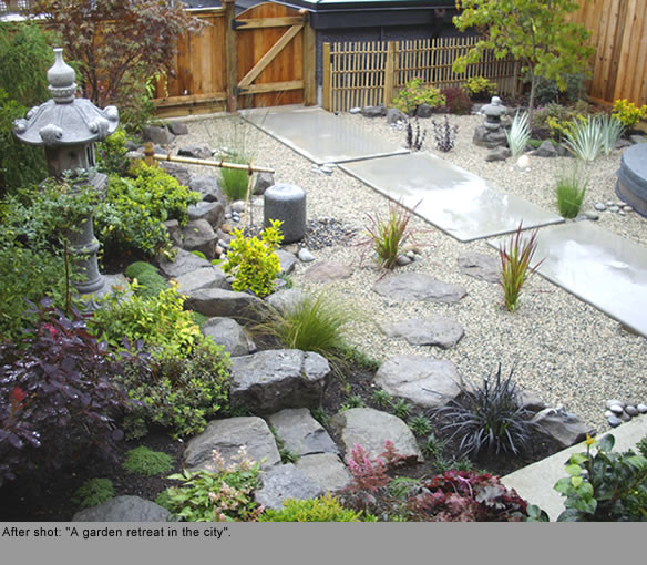 18 Relaxing Japanese Inspired Front Yard Décor Ideas: Ornamental Plant And Trees For Zen Style Gardens