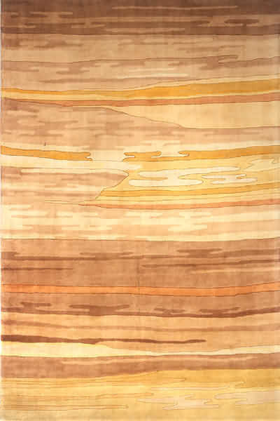 """Momeni Rug New Wave 9'6"""" x 13'6"""" NW-13 Sand NEWWANW-13SND96D6 contemporary-area-rugs"""
