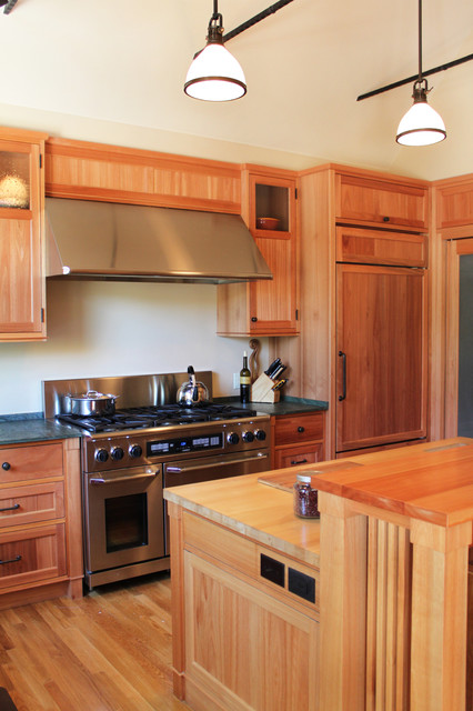 12th Street Residence traditional-kitchen