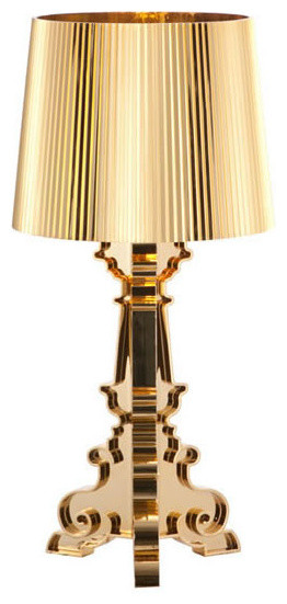 Salon S Table Lamp Gold contemporary-table-lamps