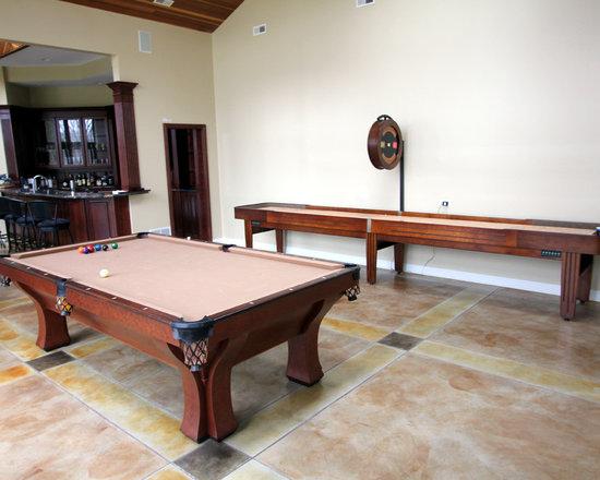 Michigan Made Custom Pool Tables -