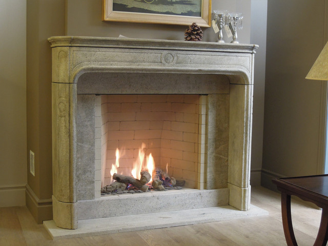 Stone Fireplaces traditional-fireplaces