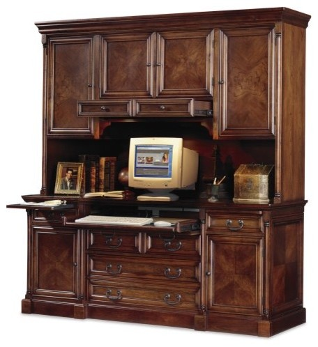 Mount View Credenza-Hutch by Kathy Ireland - Traditional - Storage Cabinets - by Hayneedle