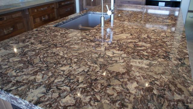 Cambria Shirebrook Quartz Countertops contemporary-kitchen-countertops