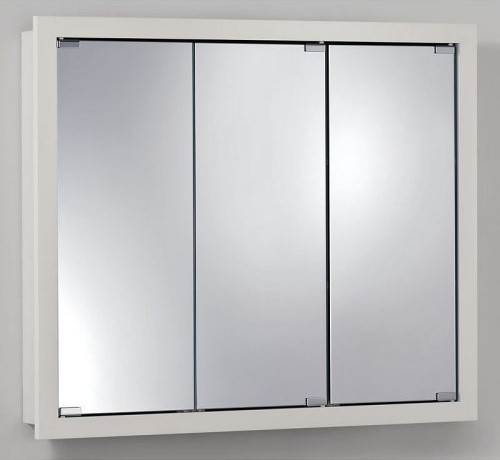Broan-Nutone Granville Tri-View 36W x 30H in. Surface Mount Medicine Cabinet - Traditional ...